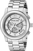 Michael Kors Men's MK8086 Runway -Tone Watch