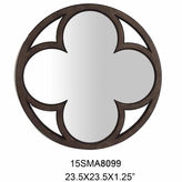 Asstd National Brand Clover In Circle Mirror
