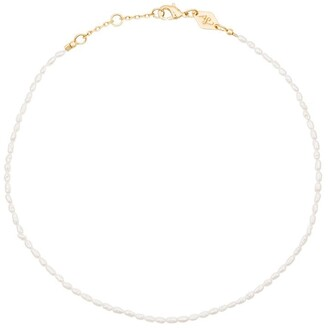 Anni Lu Wave pearl anklet
