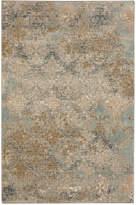 """Karastan Touchstone Moy Willow Gray 3'6"""" x 5'6"""" Area Rug"""
