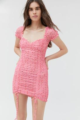 Tiger Mist Toronto Ruched Mini Dress