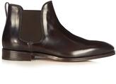Salvatore Ferragamo Giotto leather chelsea boots
