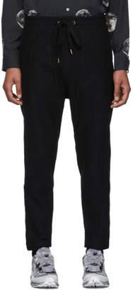 Robert Geller Black New Richard Lounge Pants