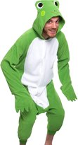 Silver Lilly Adult Pajamas - One Piece Cosplay Animal Costume (Brown M)