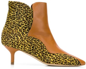 Malone Souliers Jordan panelled ankle boots