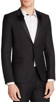The Kooples Tailor Super 100's Slim Fit Tuxedo Jacket