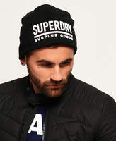 Superdry Surplus Goods Logo Beanie