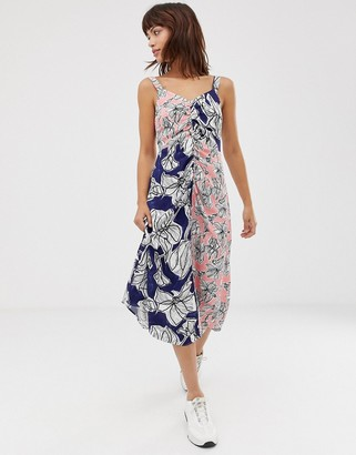 Asos mixed floral cami dress-Multi