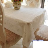 M0145282 European garen tablecloth/Waterproof table cloth/ plastic tablecloths/ isposable wiping cloth/Lace table cloth