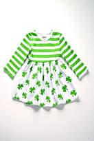 Honeydew Clover Print Dress