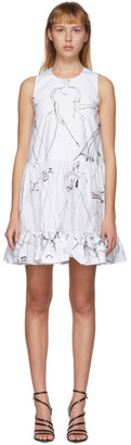 Alexander McQueen White Dancing Girls Dress