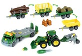 Theo Klein John Deere Mega Take A Part Set - Transporter, Tractor & Much More
