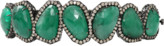 SUTRA Sliced Emerald And Diamond Bracelet