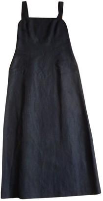 Cacharel Black Linen Dresses