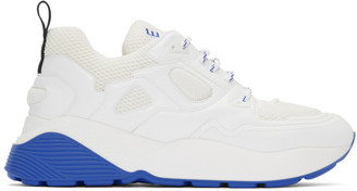 Stella McCartney White and Blue Eclypse Sneakers