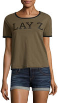Fifth Sun Lay Z Graphic T-Shirt- Junior