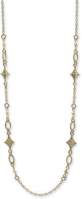 Armenta Old World Sueno Crivelli Toggle Lariat Necklace