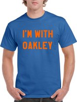 """Silverfish Tees LIMITED EDITION """"Im With Oakley"""" New York Knicks MSG Fight T-shirt Jersey"""
