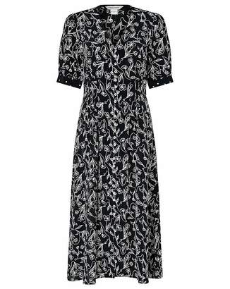 Monsoon Jean Print Dress