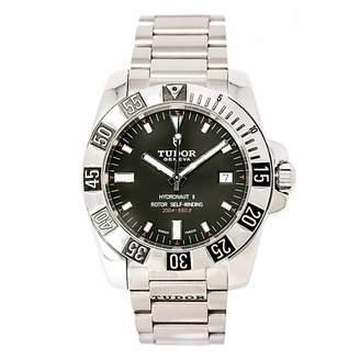 Tudor Hydronaut Black Steel Watches