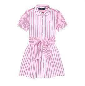 Polo Ralph Lauren Striped Cotton Shirtdress (2-7 Years)