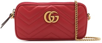 Gucci mini GG Marmont crossbody bag