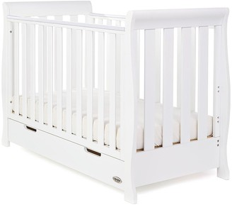 O Baby Stamford Mini Sleigh Cot Bed