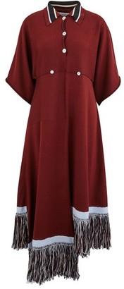 J.W.Anderson Fringed wool dress