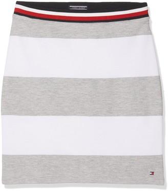 Tommy Hilfiger Girl's Bright Stripe Knit Skirt