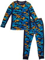 Cuddl Duds Toddler Boy Camouflage Fleece Top & Leggings Set