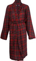 Rosetta Getty tartan pattern cardi-coat