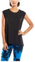 Lucy Women's Effortless Ease Short Sleeve Top Black Athletic Clothing