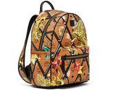 MCM Small Stark Motif Rombi Backpack