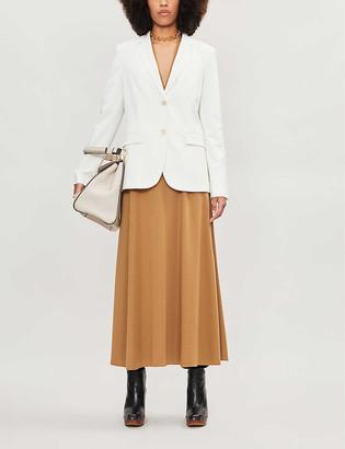 Theory Single-breasted stretch-wool blazer
