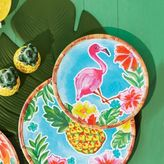 Sur La Table Flamingo Melamine Salad Plate