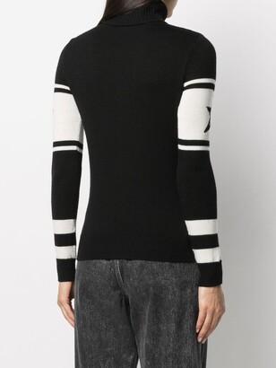Perfect Moment Aspen roll neck merino sweater