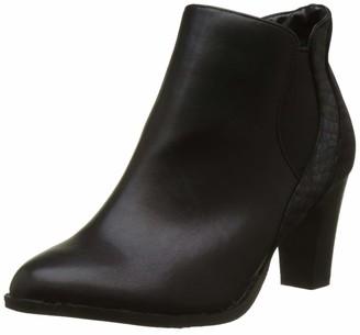 The Divine Factory Women QL3409 Boots Black Size: 5 UK