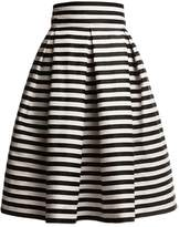 Black And White Striped Skirt - ShopStyle UK