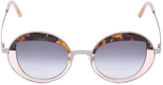 Peter And May Cloud Cuckoo Land Round Sunglasses