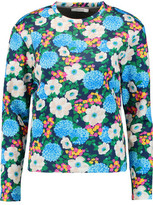Carven Printed Neoprene Sweatshirt