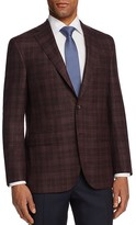 Jack Victor Tonal Textured Plaid Classic Fit Sport Coat