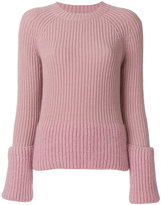 Moncler layered sleeve sweater