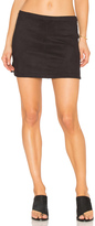 David Lerner High Low Rounded Hem Skirt