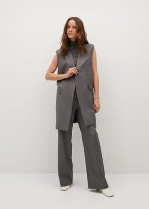 MANGO Pocket suit waistcoat