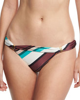 Vix Bia Vintage Stripe Swim Bottom