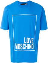 Love Moschino boxed logo T-shirt