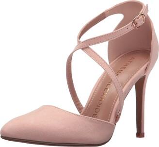 Athena Alexander Women's Monett Dress Sandal Blush Suede 10 M US