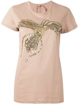 No.21 sequin embellished T-shirt - women - Cotton/Polyester/PVC/glass - 40