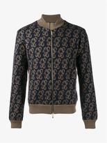 Etro Paisley Print Wool Bomber Jacket