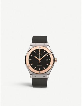 Hublot 542.no.1181.rx classic fusion king gold watch